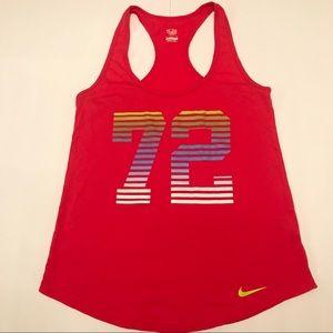 Nike Red 72 Logo Tank